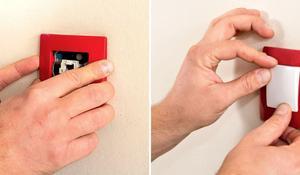 KROK III - Zakładanie obudowy łącznika elektrycznego