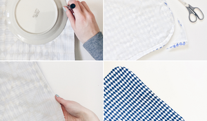KROK V - Obszywanie tkaniny